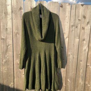 Victoria Secret Olive green wool dress